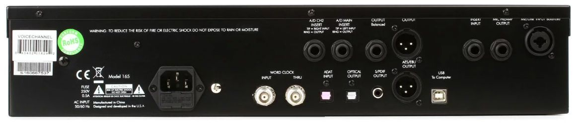 PREAMP P/MICROFONE VALVULADO ART VOICE CHANNEL