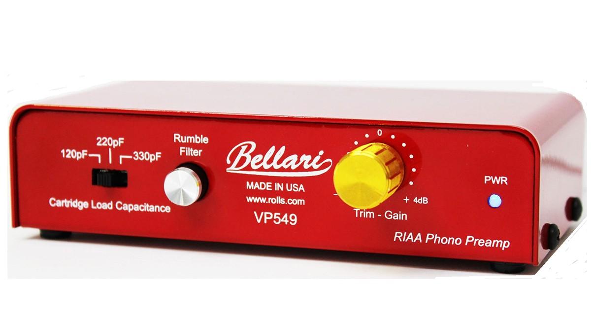 PREAMP P/ TOCA-DISCOS BELLARI VP549