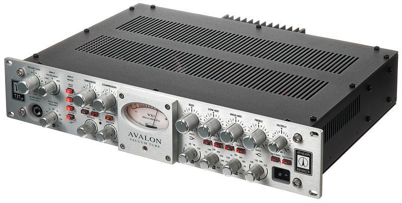PREAMP VALVULADO P/MICROFONE E INSTRUMENTOS AVALON DESIGN VT-737SP