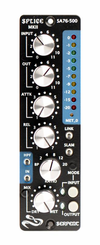 COMPRESSOR 500 SERIES SERPENT AUDIO SPLICE MKII SA-76/500