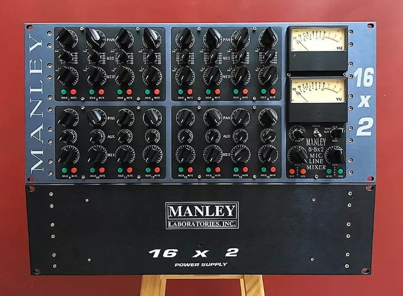 SUMMING MIXER MANLEY 16X2 LINE MIXER