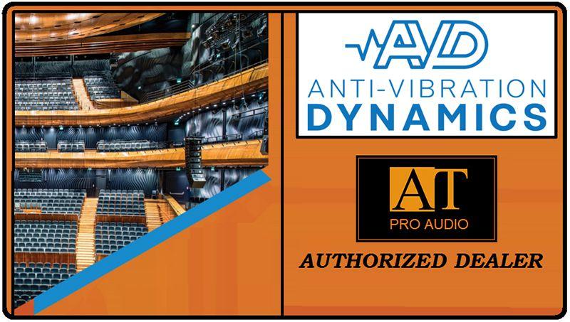 SUPORTE ANTI-VIBRAÇÃO P/MONITORES AVD ISOPRO-SUB-01 (4 UNIDADES)