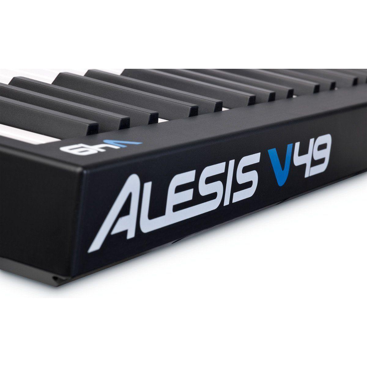 TECLADO CONTROLADOR MIDI ALESIS V49