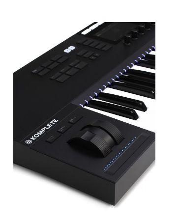 TECLADO CONTROLADOR MIDI NATIVE INSTRUMENTS KOMPLETE KONTROL S49 MK2