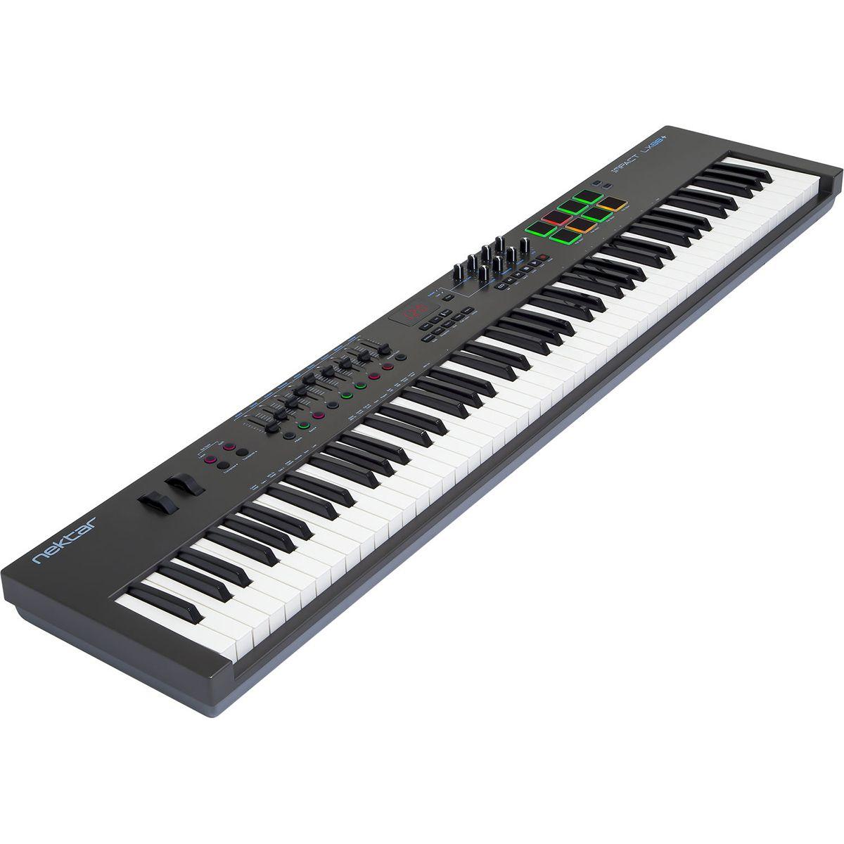 TECLADO CONTROLADOR MIDI NEKTAR IMPACT LX88+