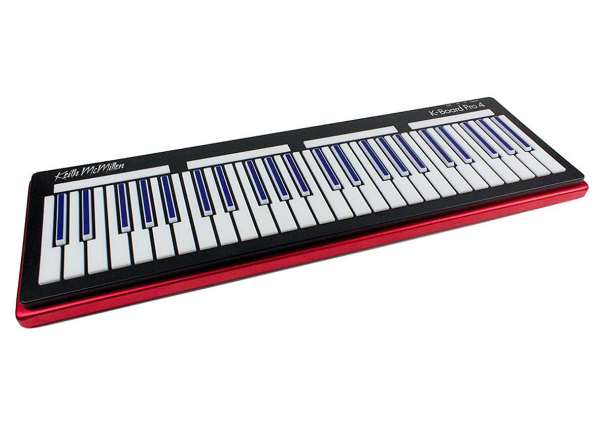 TECLADO CONTROLADOR MIDI USB KEITH MCMILLEN INSTRUMENTS K-BOARD PRO 4