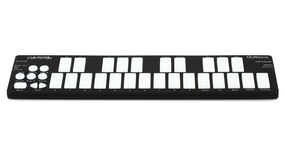 TECLADO CONTROLADOR MIDI / USB KEITH MCMILLEN INSTRUMENTS QUNEXUS