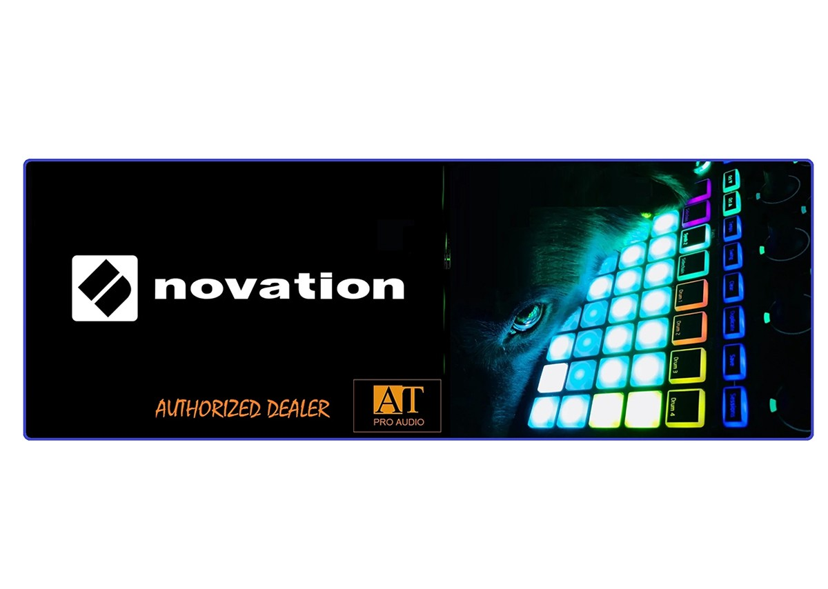 TECLADO CONTROLADOR MIDI USB NOVATION IMPULSE 25