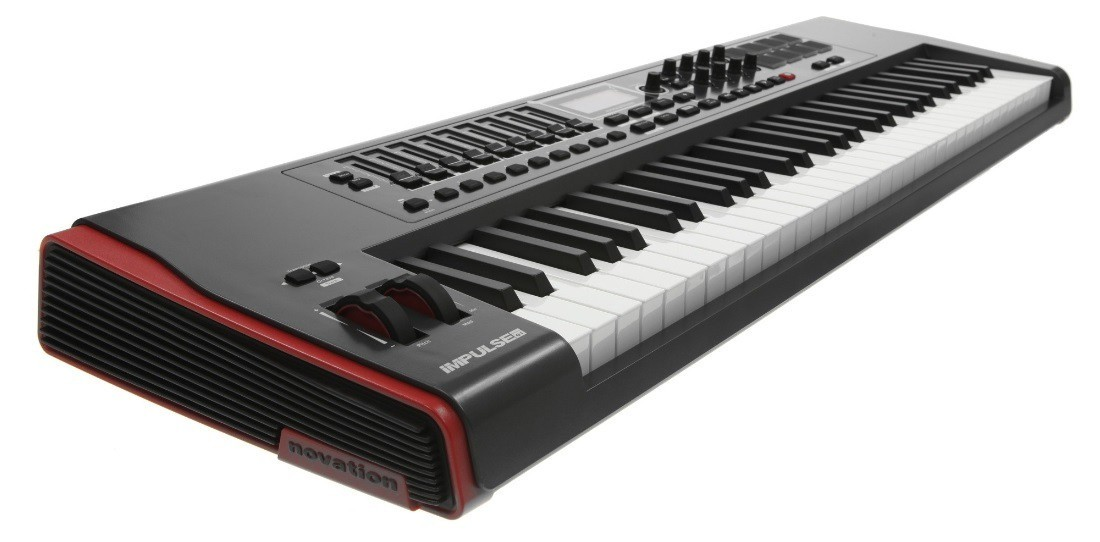 TECLADO CONTROLADOR MIDI USB NOVATION IMPULSE 61