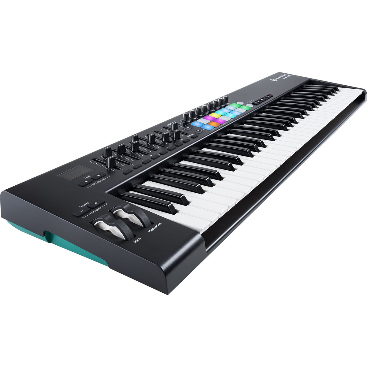 TECLADO CONTROLADOR MIDI USB NOVATION LAUNCHKEY 61 MK2