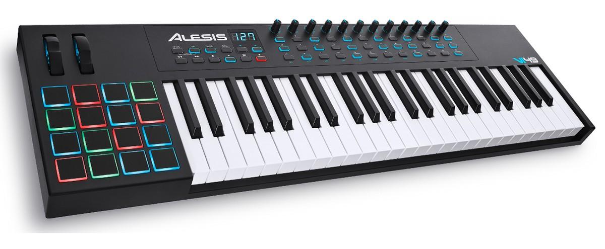 TECLADO CONTROLADOR USB/MIDI ALESIS VI49