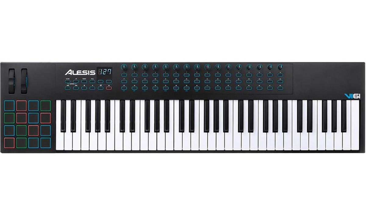 TECLADO CONTROLADOR USB/MIDI ALESIS VI61