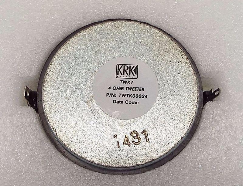 TWEETER KRK TWTK00024 (RP/ROKIT G3 SERIES)