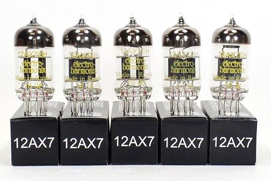 VÁLVULAS ELECTRO-HARMONIX 12AX7EH MATCHED QUINTET
