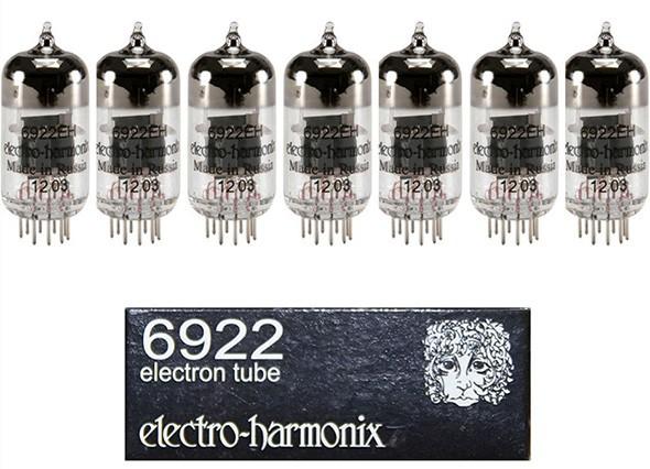 VÁLVULAS ELECTRO-HARMONIX 6922 MATCHED SEPTET