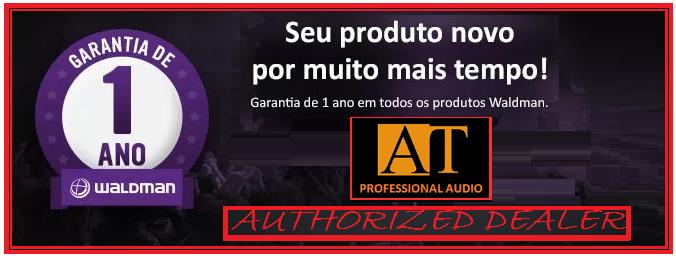 VIOLÃO ELETRO-ACÚSTICO DE NYLON WALDMAN PPCE-1NT