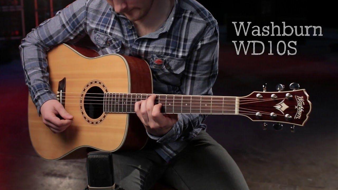 VIOLÃO WASHBURN WD10S