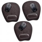 Kit de Mouse Pad em Couro Legitímo CP3005 Galvani