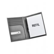 Kit com 3 refís para porta receituario A5