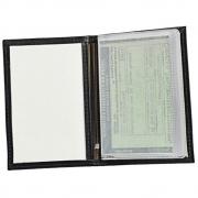 Porta Documentos de Veículo Aqua em Couro Legítimo 113 Galvani