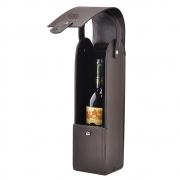 Porta Vinho Tint em Couro Legítimo 1481 Galvani