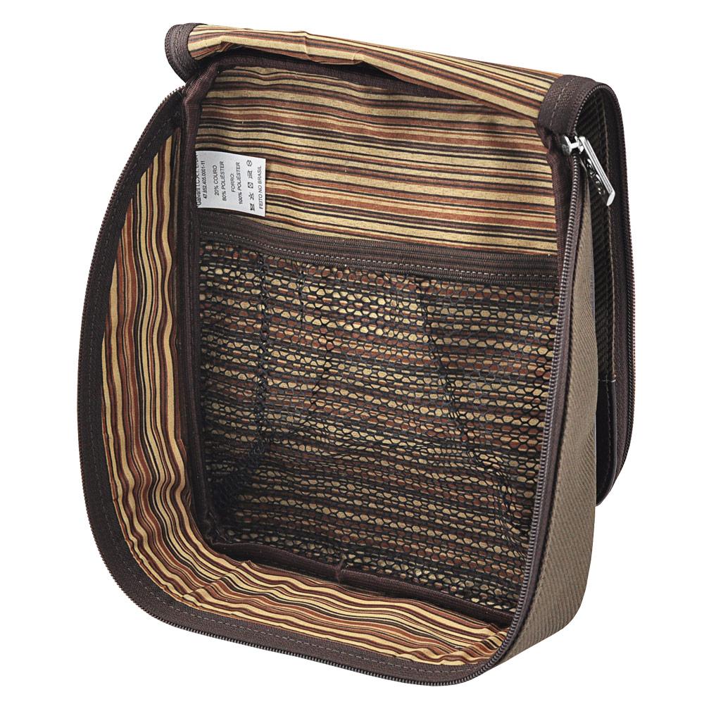 Bolsa de mão Âmbar em Couro Legitímo 471 Galvani
