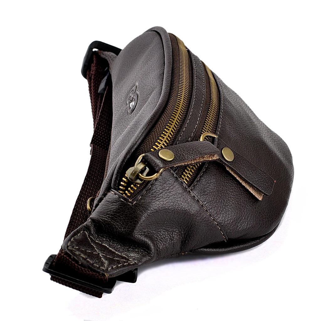 Bolsa Pochete Floyd em Couro Legítimo 1590 Galvani