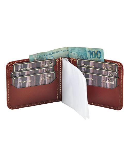e80a750cf4 Carteira Masculina Dolar em Couro legítimo - Loja Galvani - bolsas ...