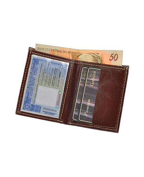 e73f0b08e Carteira Masculina Dolar em Couro legítimo - Loja Galvani - bolsas ...