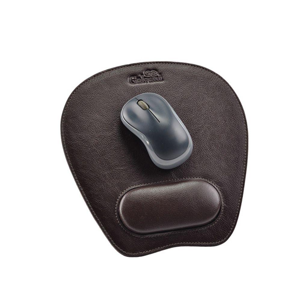 Mouse Pad Adminis em Couro legítimo