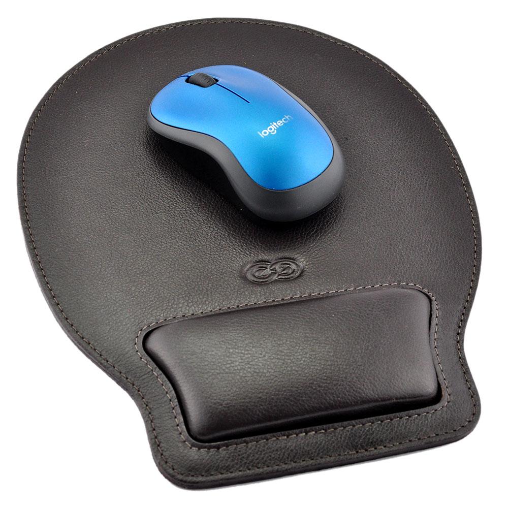 Mouse Pad Desing em Couro Legítimo 999 Galvani
