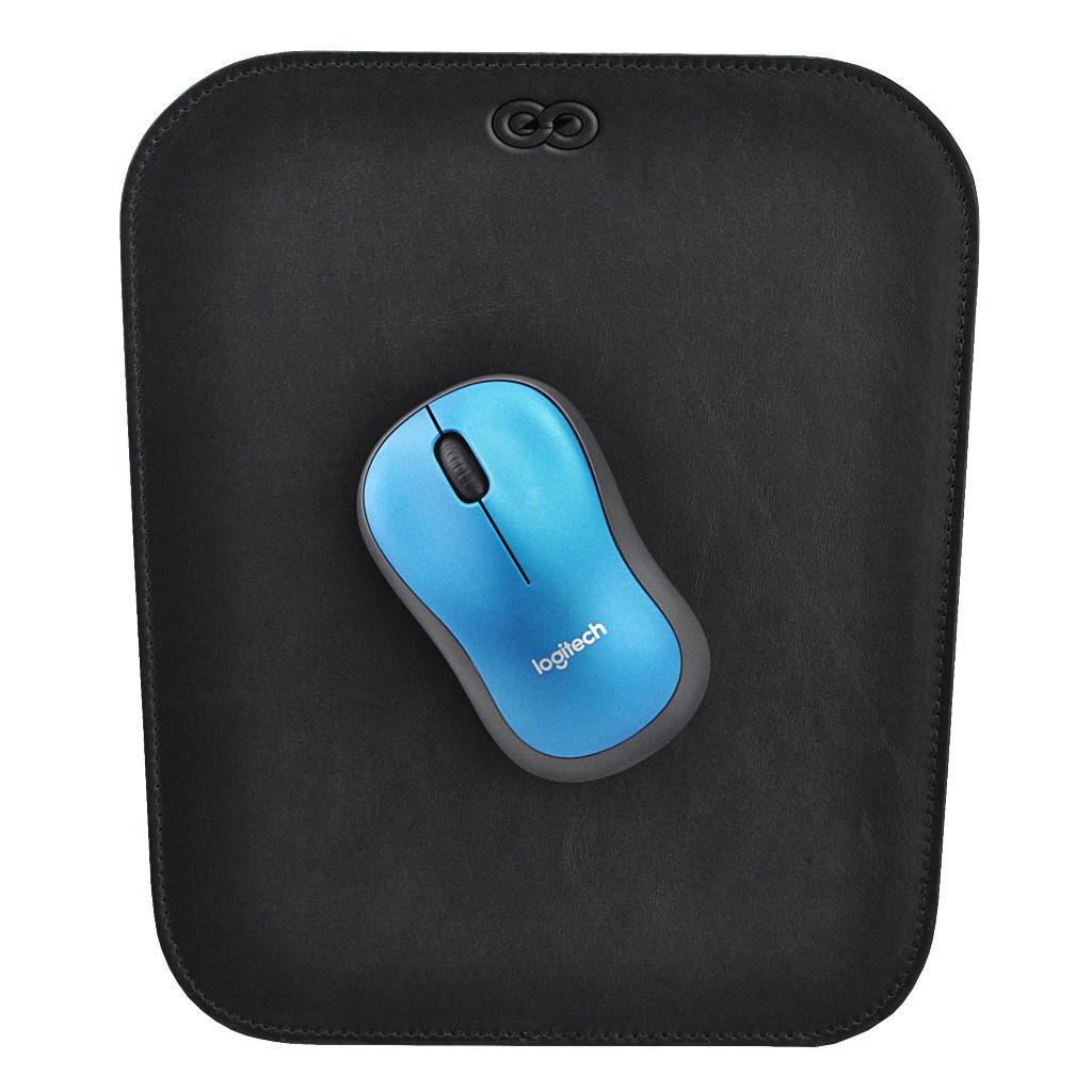 Mouse Pad Marke em Couro Legitímo