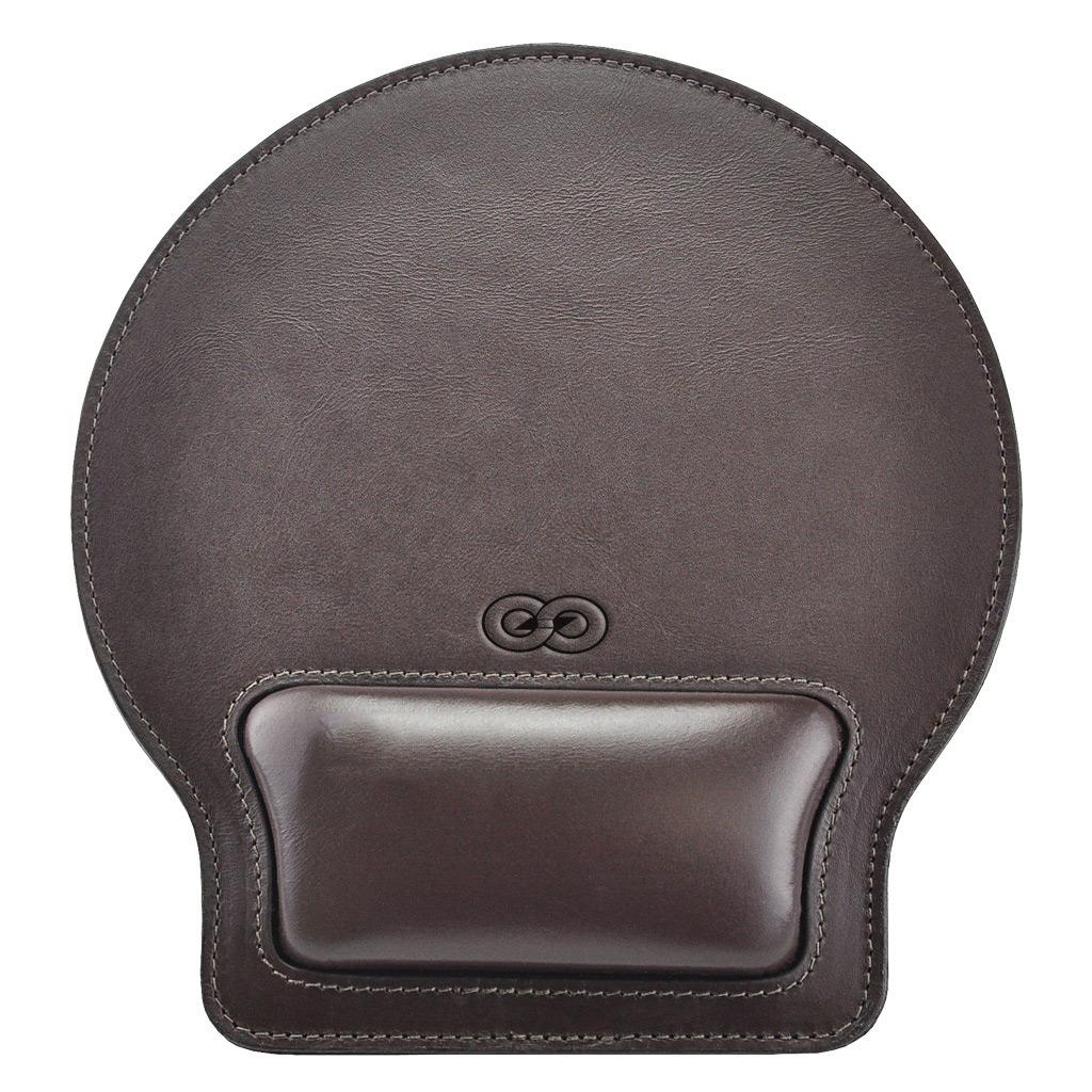 MousePad Desing em Couro Legítimo 999 Galvani