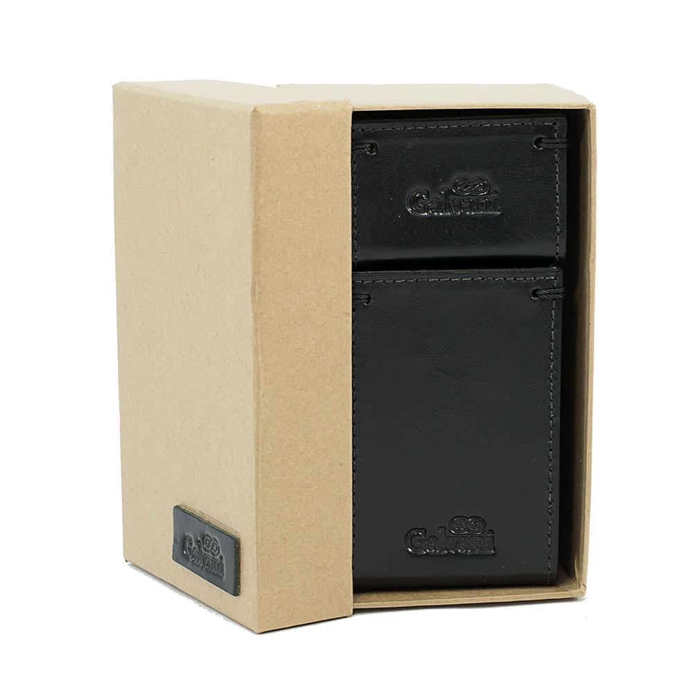 Porta Canetas / Clips em Couro Legitímo Secret 905 Galvani