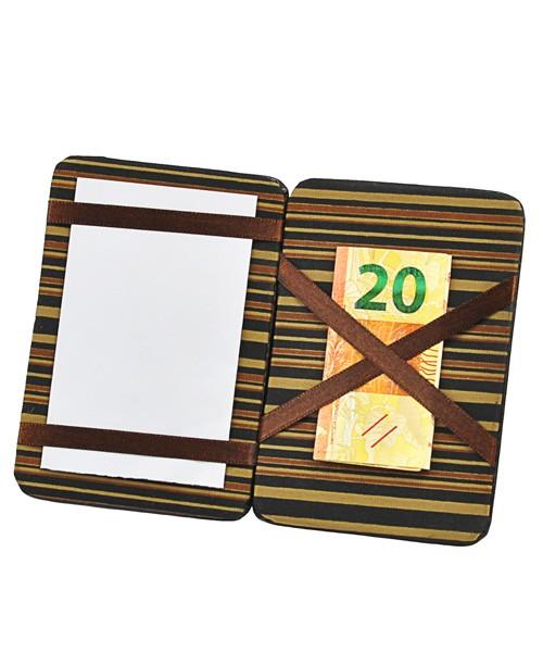 Porta Cartões Mágico Tiê em Couro
