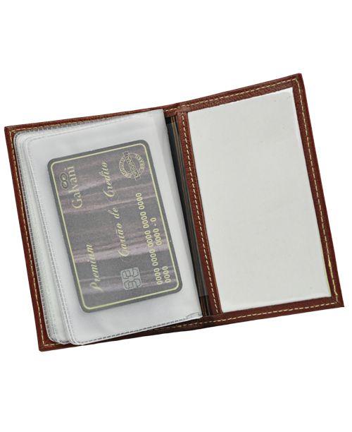 ce2e117b45850 ... Porta Documentos de Veículo Aqua em Couro legítimo - Loja Galvani ...