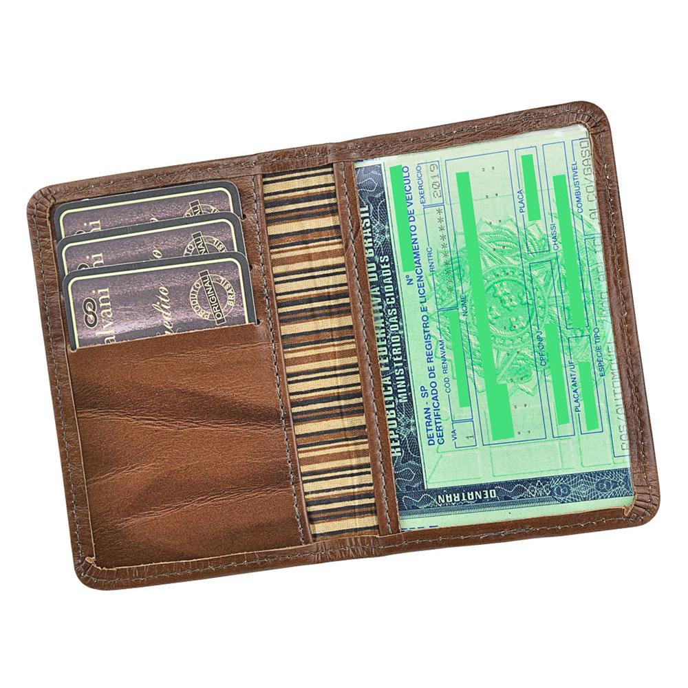 Porta Documentos de Veículo Bio em Couro Legítimo 940 Galvani