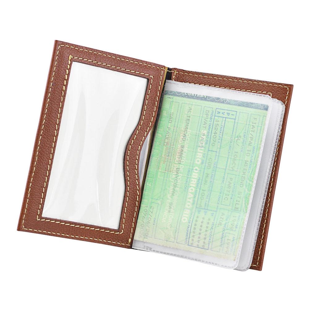 Porta Documentos de Veículo Ocean em Couro Legítimo 1012 Galvani