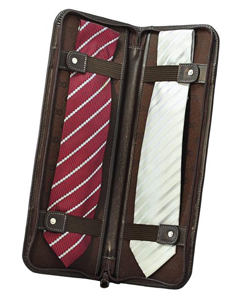 Porta Gravatas Gael em Couro