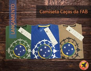 Camiseta Caças FAB