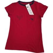 Camiseta Gripen Feminina Vermelha