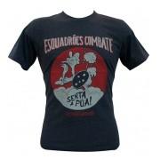 Camiseta Senta Pua Cinza Mescla
