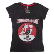 Camiseta Senta Pua Preta Fem