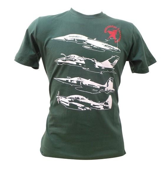 Camiseta Caça Fab Verde