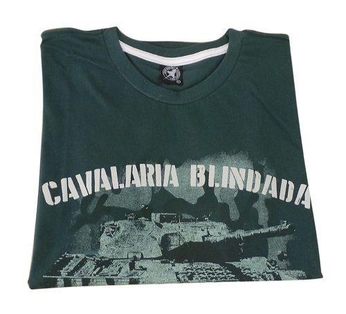Camiseta Cavalaria Blindada Verde