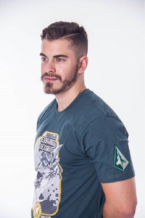 Camiseta Esquadrão Gripen Verde