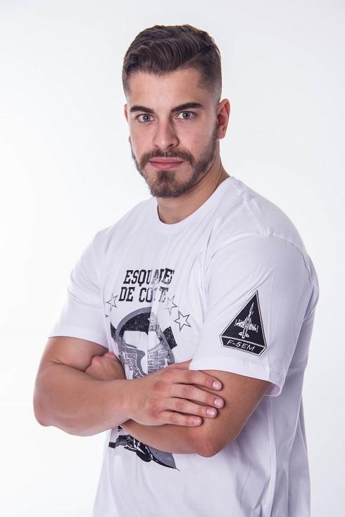 Camiseta Caça F5EM Branca