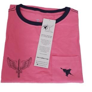 Camiseta Gripen Feminina Rosa