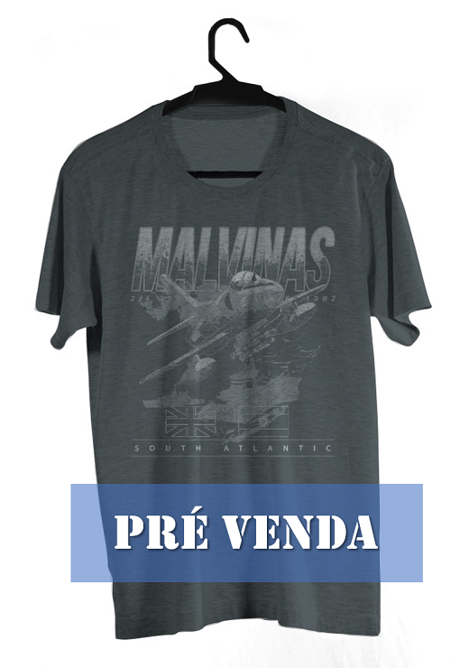 Camiseta Guerra das Malvinas