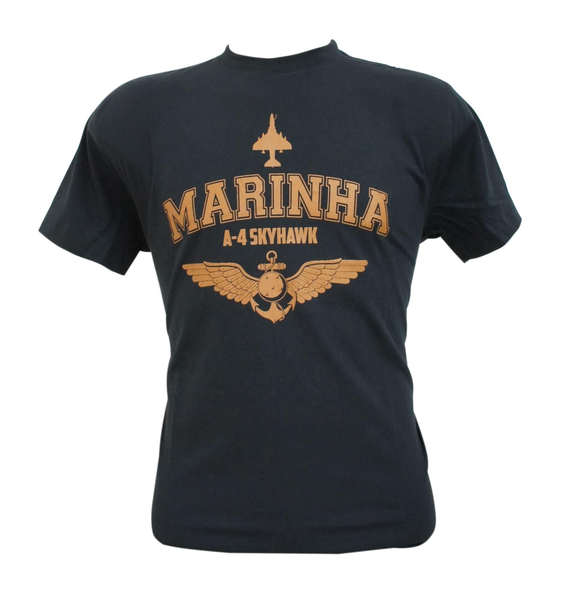 Camiseta Marinha Skyhawk